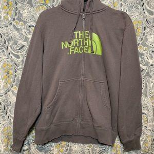 THE NORTH FACE Men's Gray Zip Up Hoodie